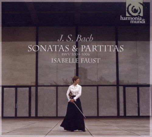 Bach : Sonates et Partitas pour violon seul, BWV 1004, BWV 1005, BWV 1006
