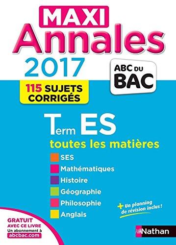 MAXI Annales ABC du BAC 2017 Term ES (28)