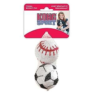 KONG Pack de 2 Airdog Sport Balles Jouets pour Chiens L