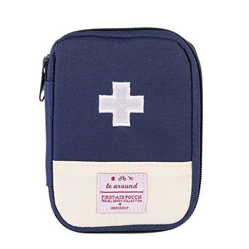 Prettyuk Outdoor Camping Wandern Survival Rescue Bag Notfall Erste Hilfe Medizin Tasche