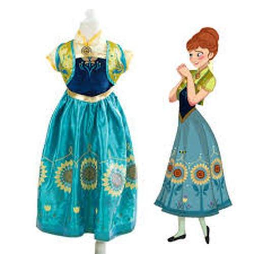 Imagen de disfraz de la princesa elsa anna de frozen vestido niña talla 110 4 5 años  alternativa