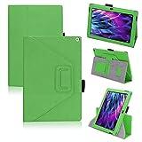 Tasche Medion Lifetab S10366 S10365 S10346 Hülle Schutzhülle Cover Tablet Case, Farben:Grün