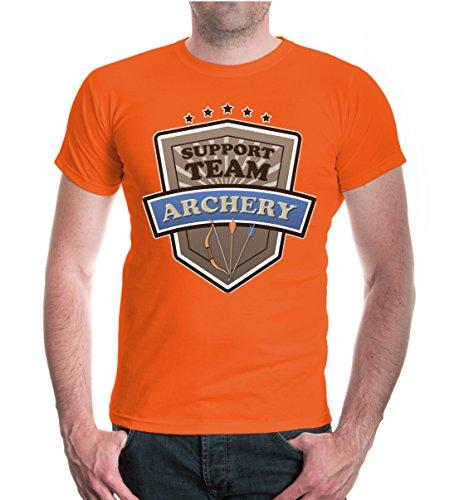 buXsbaum® T-Shirt Archery-Support Team Orange-z-direct