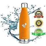 Aorin 500ml Trinkflasche (Orange) - 2