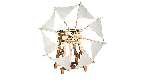Kraul Segelwindmühle Bausatz Naturfarbene Segel Spielzeug