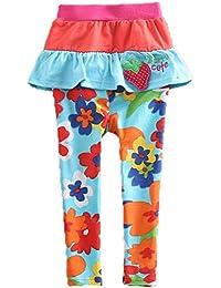 Neat - Pantalon - À Fleurs - Fille