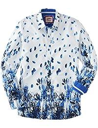 Joe Browns Mens Long Sleeve Shirt With Floral Border Print