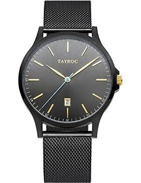 Tayroc Armbanduhr Classic Schwar