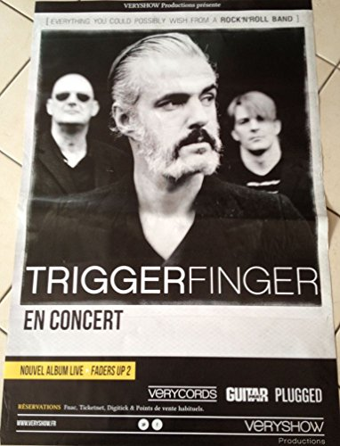 triggerfinger - in concerto - Faders Up 2 - 65 x 85 cm Mostra/Poster