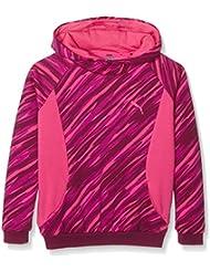 Style Puma-Sudadera con capucha para niña, color morado (: 12 años, talla fabricante: 152)