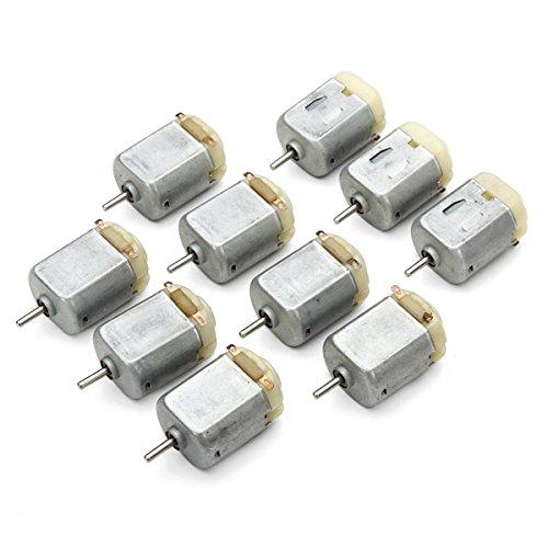 ILS - 10 pezzi 130 Micro DC Motore 3V-6V 8000RPM