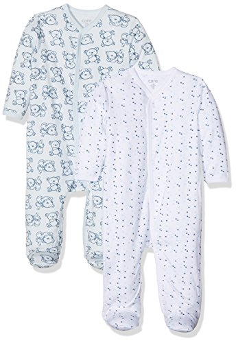 Care Pijama para Bebé Niño, Pack de 2 Blau (Light blue 700)...