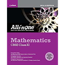 All in One Mathematics Class 11th Arihant Latest Edition
