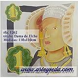 Pañuelo de seda, DAMA DE ELCHE