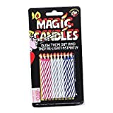 JOKE: MAGIC CANDLES PACK OF 10