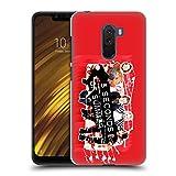 Head Case Designs Offizielle 5 Seconds of Summer Sofa Rot Gruppenbild Derp Ruckseite Hülle für Xiaomi Pocophone F1 / Poco F1