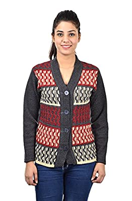 Pilot's Full Sleeve High Quality Woolen Women Cardigan