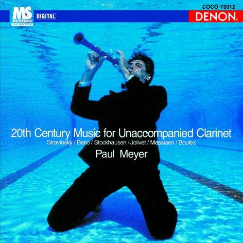 Preisvergleich Produktbild 20th Century Music for Unaccompanied Clarinet