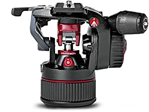 Manfrotto nitrotech N8 tripod black / red