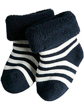 FALKE Unisex Baby Socken Erstlingsringel, Blickdicht