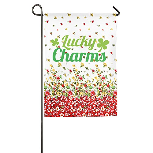 HEART Lucky Charms Hausflagge Gartenflagge Demonstrationen Fahne Familienflagge Matchflagge -