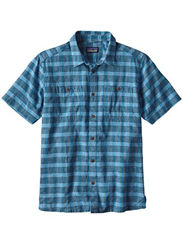 Patagonia Back Step Shirt Men Blau