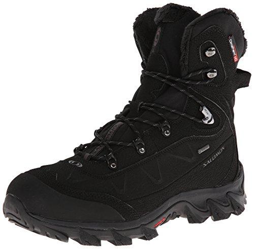 SALOMON Nytro GTX® M 108616, Scarpe da trekking uomo, Nero (Schwarz (Black/Black/Autobahn)), 45.3333333333333