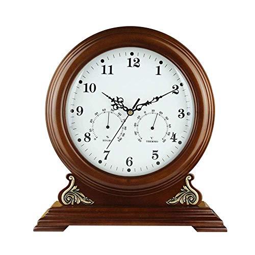 Relojes de sobremesa de madera, reloj de mesa de escritorio ...