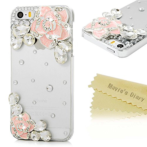 iphone-se-case-iphone-5s-case-iphone-5-case-maviss-diary-3d-handmade-bling-diamonds-glitter-crystal-