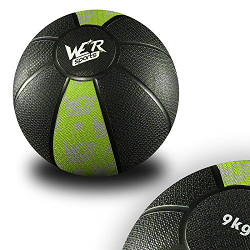 Medicine-Ball-Crossfit-Strength-Training-Gym-Fitness-Boxing-MMA-Body-Workout-9-Kilograms