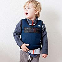 Harkla Weighted Compression Vest for Children (Ages 2 to 4) Weighted Vest for Kids Helps with Mood, & Sensory Overload