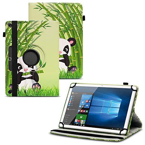 Nauci Tablet Schutz Hülle für Acepad A121 A96 A140 A101 aus hochwertigem Kunstleder mit Standfunktion 360° Drehbar kombiniert Schutz und Design Cover Case, Farben:Motiv 13