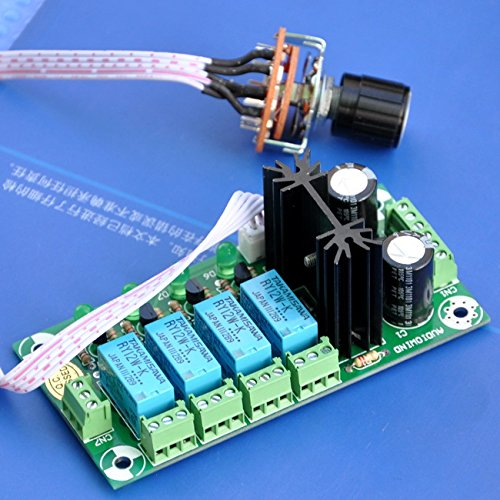 Electronics-Salon Audio Input Selector Relay Board, mit 12 V Regulator. Input Output Board