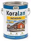 Kora Koralan Außenfarbe 2,5l Farbton: Schwedenrot