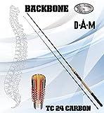 DAM Backbone SPIN 80, 2.10M, 30-80g, 2tlg. - Spinnrute + gratis K-DON Gummifisch
