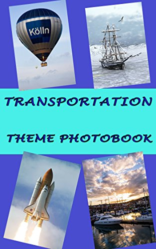 TRANSPORTATION THEME PHOTOBOOK (English - K-spiele Pre