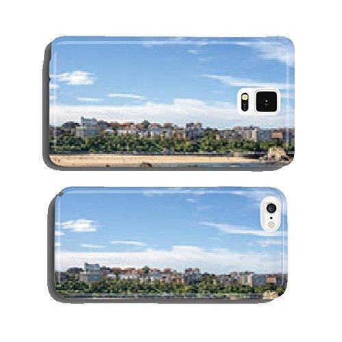 views-of-santander-city-and-sardinero-beach-cantabria-spain-cell-phone-cover-case-samsung-s5