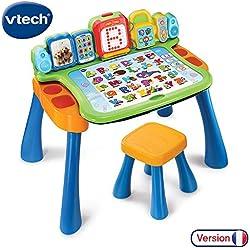 VTech - Magi bureau interactif 4 en 1 mixte avec fonction écriture, éducatif et évolutif