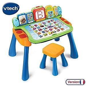 VTech DigiArt Magi bureau interactif 3 en 1 Niño/niña - Juegos educativos (AA, 585 mm, 178 mm, 406 mm, 4,75 kg) versión francesa