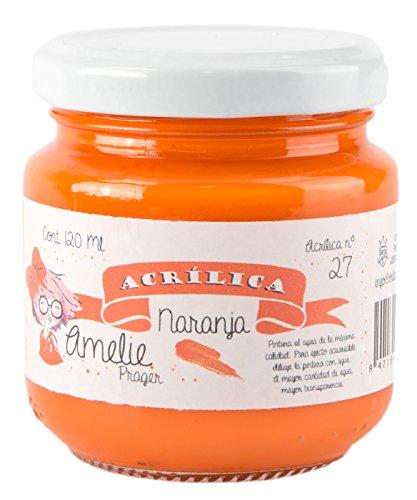 Amelie Prager AM120-27 Pintura Acrílica Naranja 120 ml