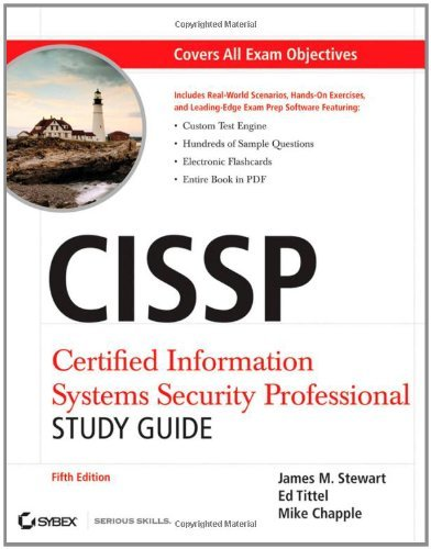 CISSP: Certified Information Systems Security Professional Study Guide by James M. Stewart (2011-01-25)