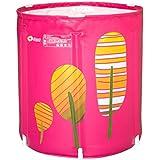 WCUI Bañeras de baño para adultos Bañera inflada plegable Bañeras de baño de Stent más gruesas Bañera portátil para niños de la familia Seleccionar ( Tamaño : 65*70CM )