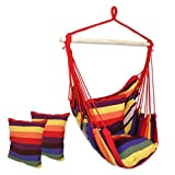 #6: Brazilian Cotton Fabric Hanging Hammock swing chair for adults-BEST QUALITY DC