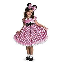 Disney Minnie Mouse Glow in the Dark Girls' Costume