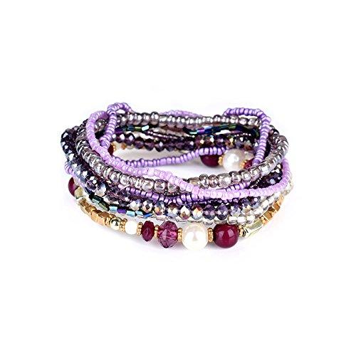 lureme-bohemian-cubic-beads-pearl-multi-strand-textured-stackable-bangle-bracelet-set-purplebl003053