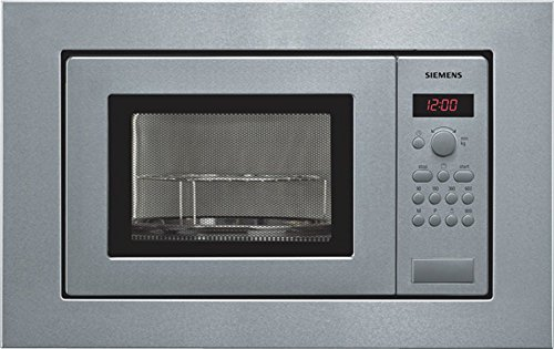 Siemens HF15G561 - Microondas, 1270 W, 10A, 50Hz, 230V, Acero inoxidable, 18000...