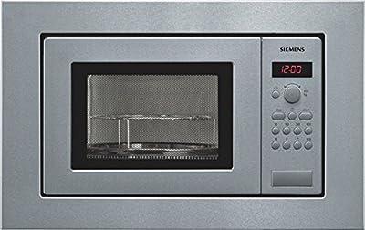 Siemens HF15G561 - Microondas, 1270 W, 10A, 50Hz, 230V, Acero inoxidable, 18000 g, 290 x 274 x 194 mm