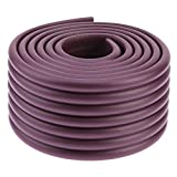 #2: Kiddysafe Multipurpose Extra Thick Table Edge Guard Tape Child Safety Corner Guards - Brown