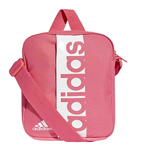 705c4f39f4 adidas Linear Performance, Borsa a Spalla Unisex, Real Pink/Real Pink/White