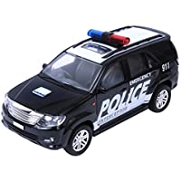 Centy Toys Police Interceptor Fortune Pull Back Car (Black)